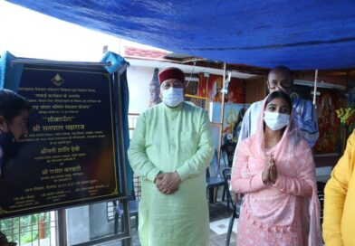 सडकों के घटिया निर्माण पर कैबिनेट मंत्री सतपाल महाराज ने दिए जांच के आदेश।